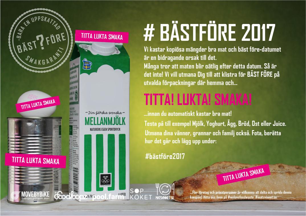 Nya kampanj: #BästFöre2017